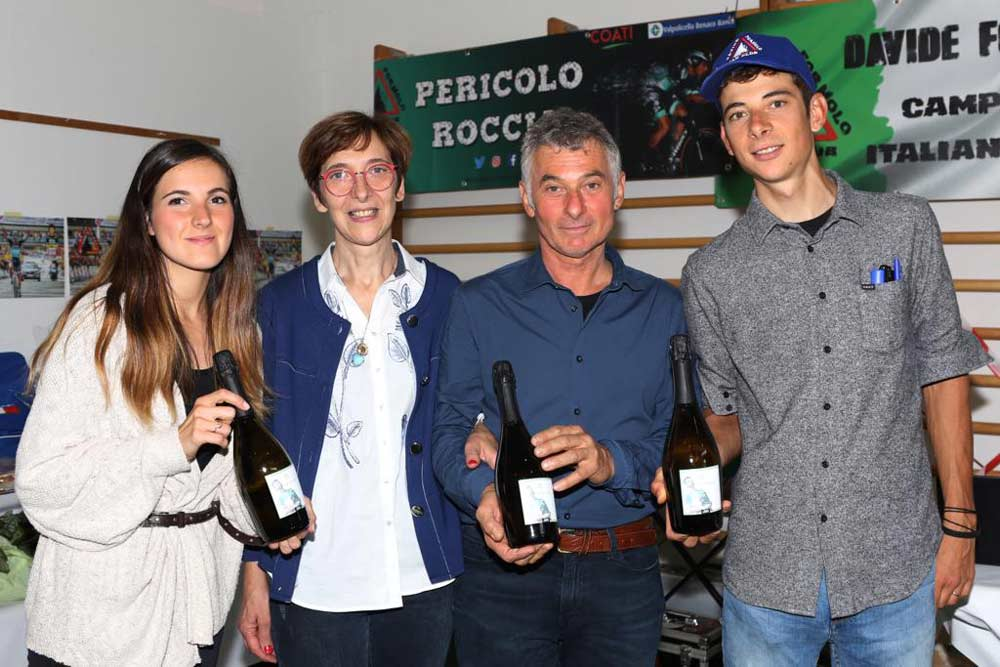 Italian Flag Prosecco celebrates Davide Formolo's unforgettable season